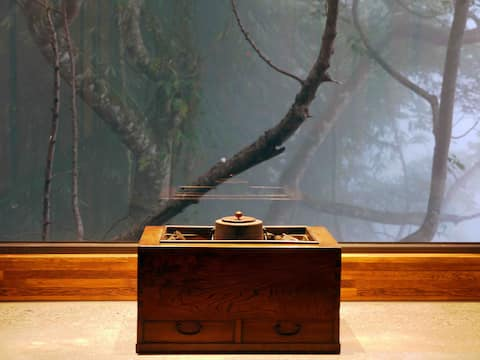 《京岄山居》日式景觀雙人房