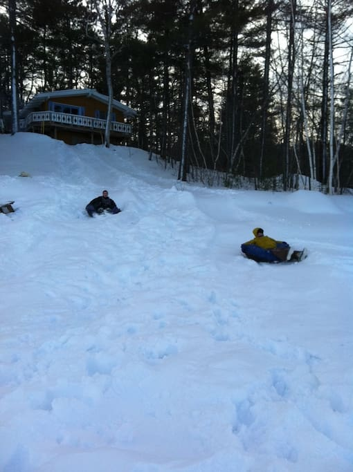 Lots of winter fun right outside your back door. And close to ski areas!