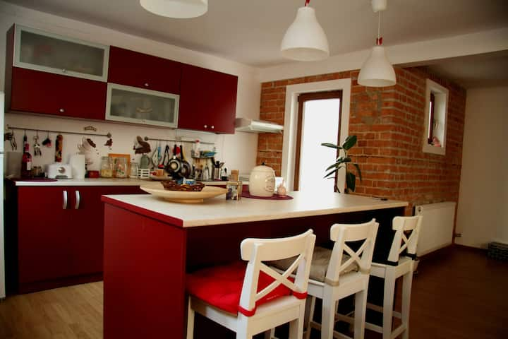 Charming&cosy flat in Bucharest!