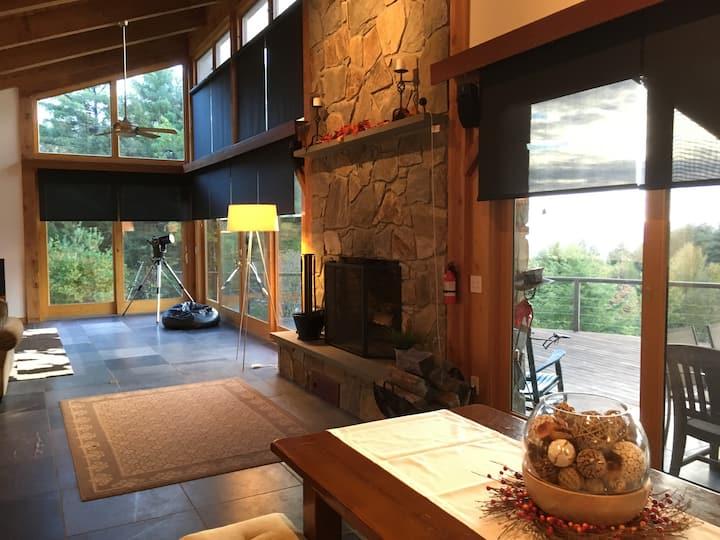 Beautiful Vermont Mountaintop Lodge