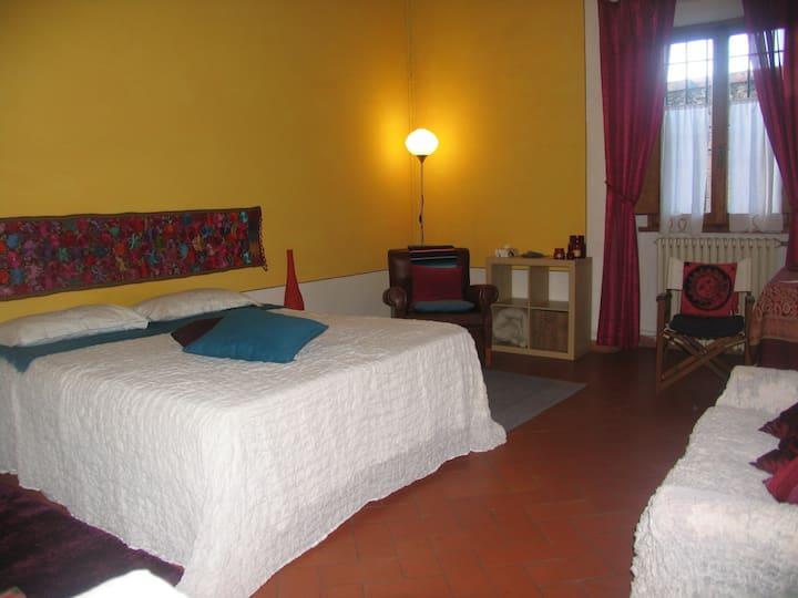 Delightful room near Fiesole.