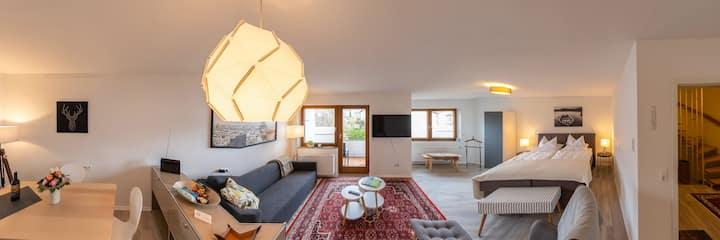 IW Boarding - Apartment Obergeschoss mit Balkon