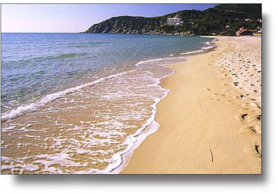 Spiaggia a 30 metri