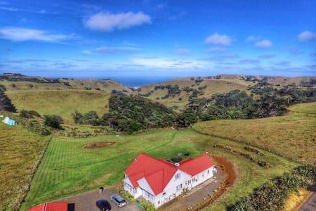 Tasman Lodge - Beautiful sea views! - Awhitu - ที่พักพร้อมอาหารเช้า