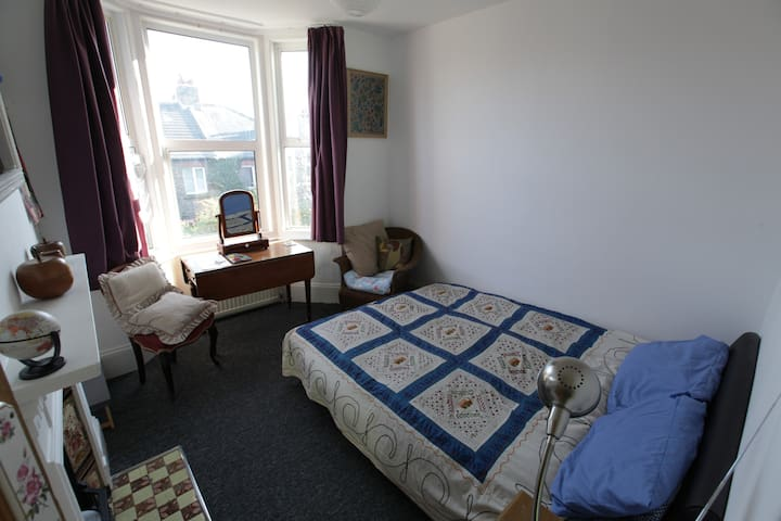 Nice double room friendly family