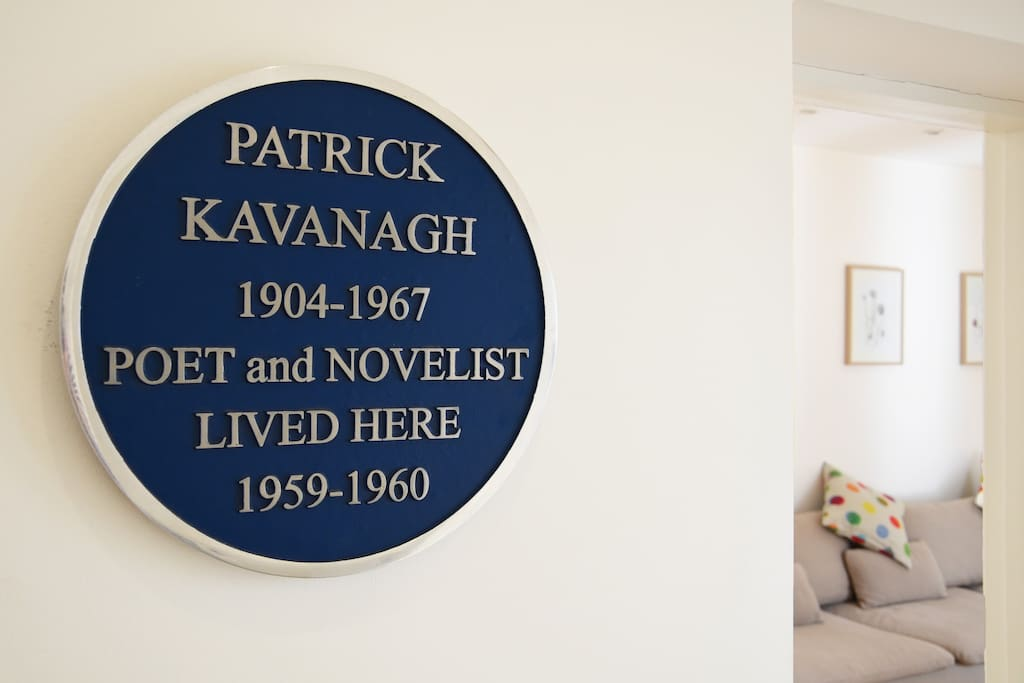 Live in the original footprint of Patrick Kavanagh's former Home -Ireland's famous poet