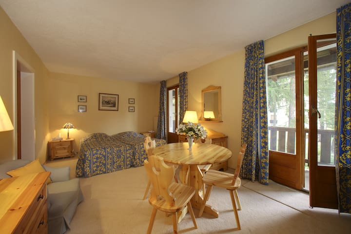 Studio confort 4 pers. proche golf - Crans-sur-sierre - Apartament