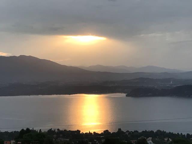 Splendida vista sui 3 laghi