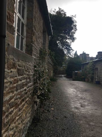 The Old Sawmill - Skipton Castle in the background