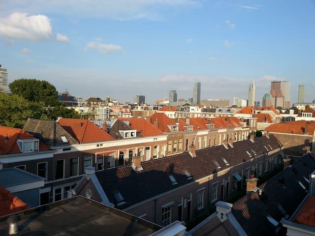 Central Private Top Floor & 360° Rooftop Terrace - Den Haag - Loft
