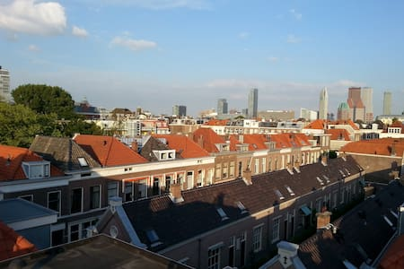 Central Private Top Floor & 360° Rooftop Terrace - Den Haag