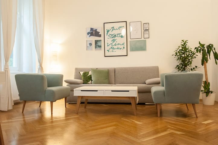 Stylish and Quiet City Apartment