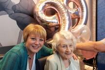 99th birthday reunites family in Wortley village.