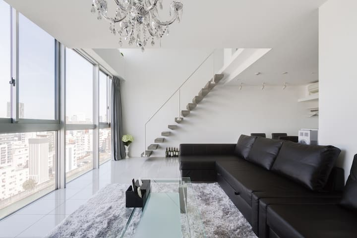 'Superior Suite 楽 Duplex-House' 복층 - 오사카 시 - Appartement