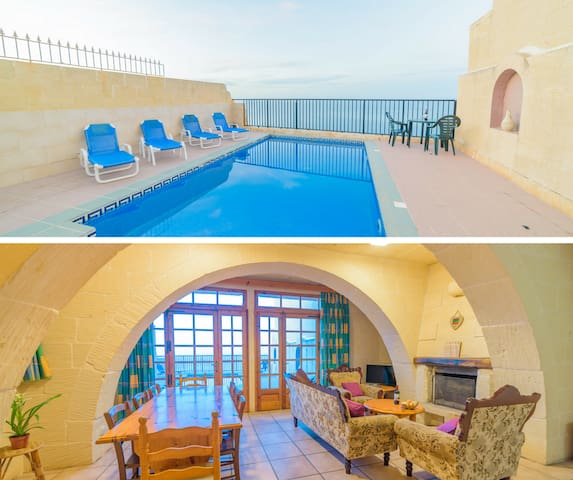 ~ Tal-Bahar ~ Entire Villa with private Pool