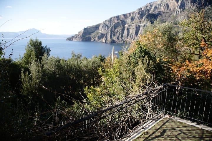 Maratea,a charming villa by the seB - Maratea - Villa