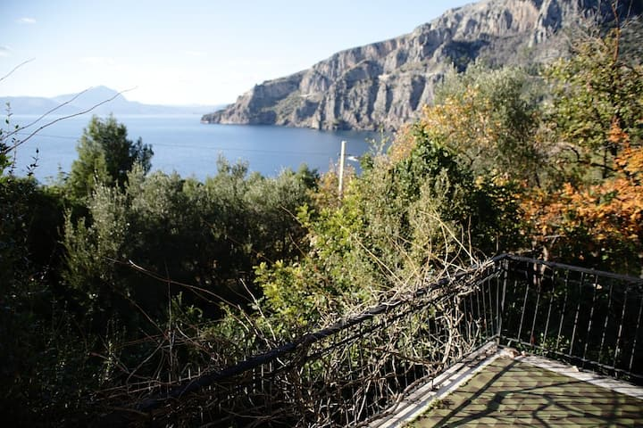 Maratea,a charming villa by the seB