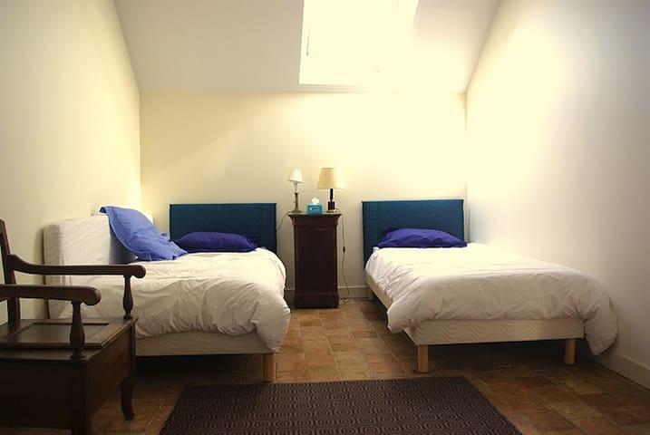 Grande chambre double.