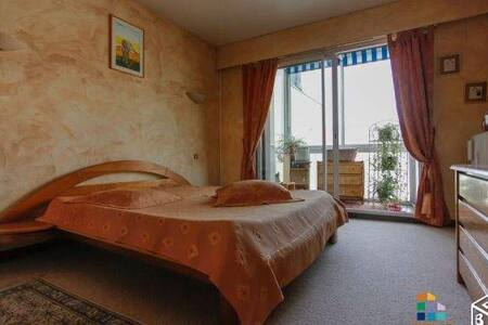 Chambre confortable et spacieuse centre Grenoble. - Grenoble