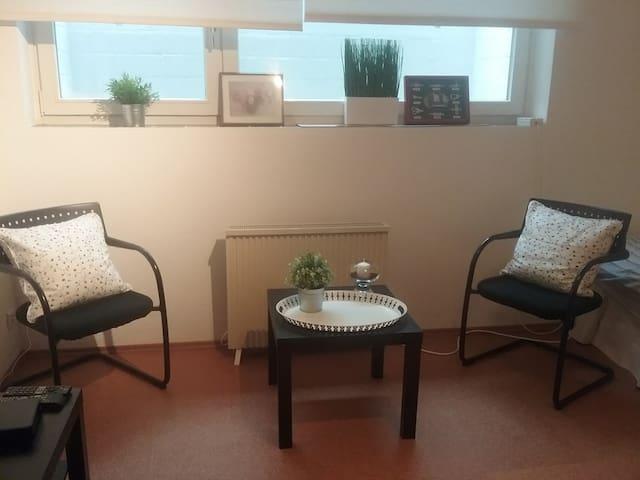 Wohnen im einfachen Apartment
