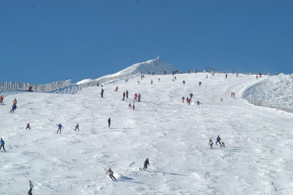 Katschberg im Winter