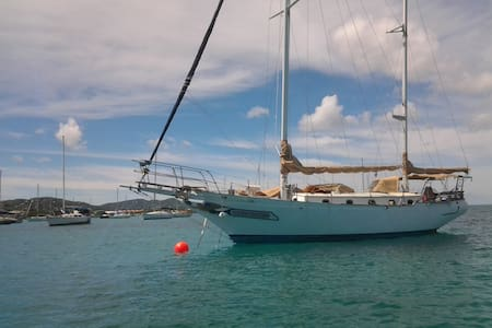 Serena St. Croix sailboat lodging - Christiansted