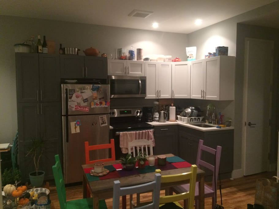 Kitchen/ living space