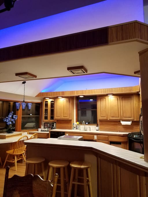 Ambient lighting - pick a color to match your mood