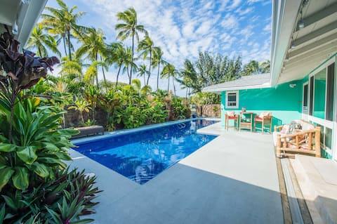 Tranquil Tropical Beach Hideaway