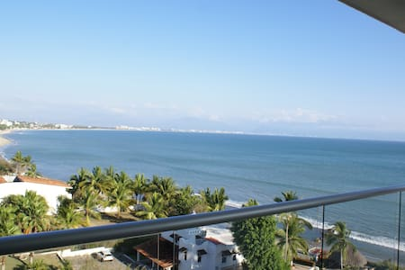 Beach front, stunning view!!! - Bucerias - Apartment