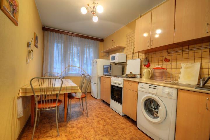 Квартира по-домашнему у метро Медведково - Moskva - Daire
