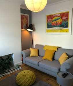 Bright 2 Bed House, 15 Mins to City, Fab Location