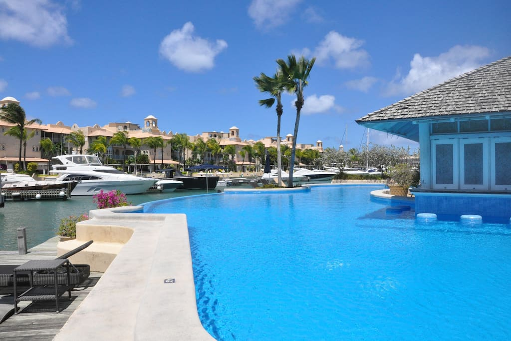 Sunset Isle swimming pool
