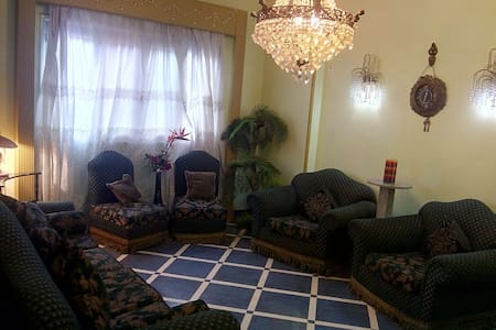 The Great flat in heliopolis near Cairo airport