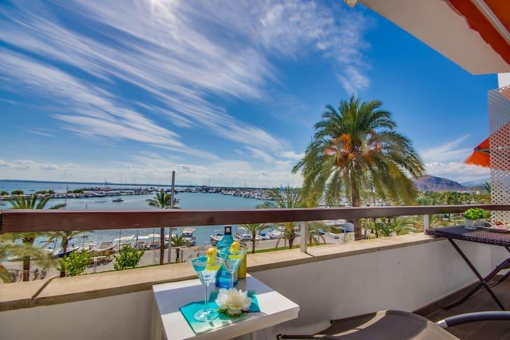 ☼ Blue Palm Beach - Very modern apartment,Sea view