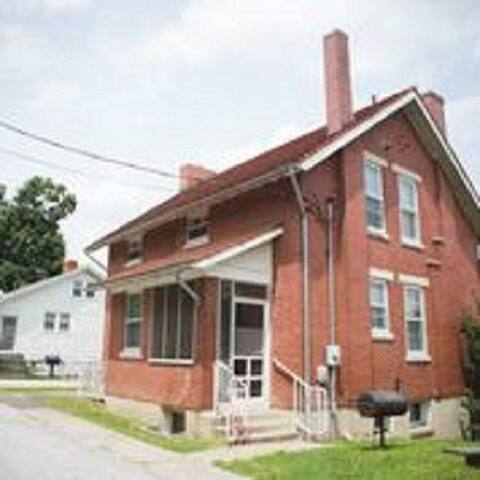 Back view of house 2 and 1