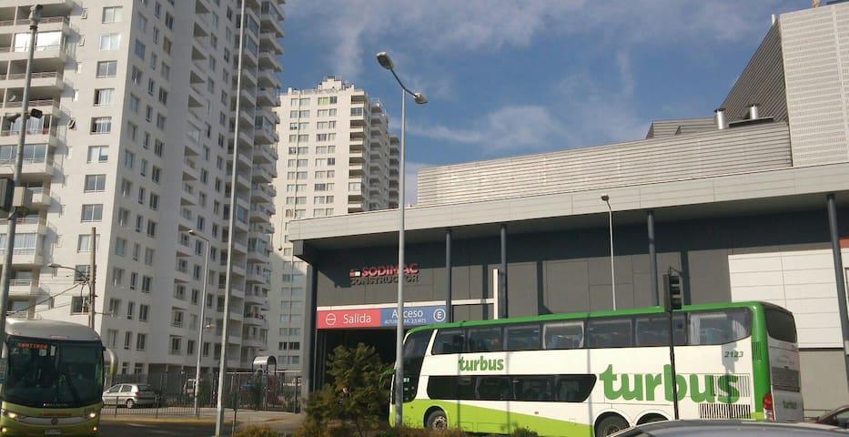 Depto P18!,central,Mall,Metro,playa - Viña del Mar - Apartment