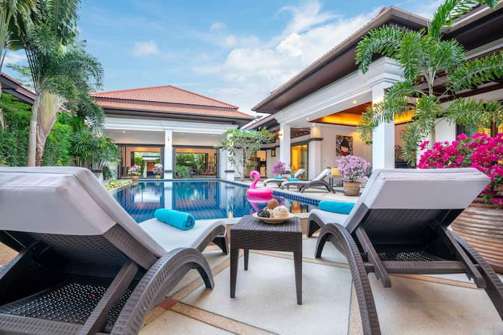 2-br. Luxury Private Pool Villa Gelsomino Bang Tao
