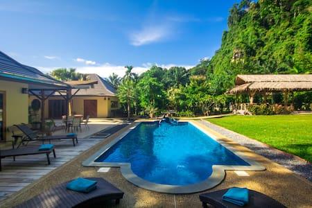 Eden Villas-Krabi-Pool Villa-Free Car-Master Villa