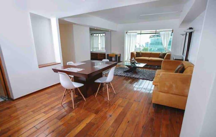 Minimalist and modern apartment Santa Fe