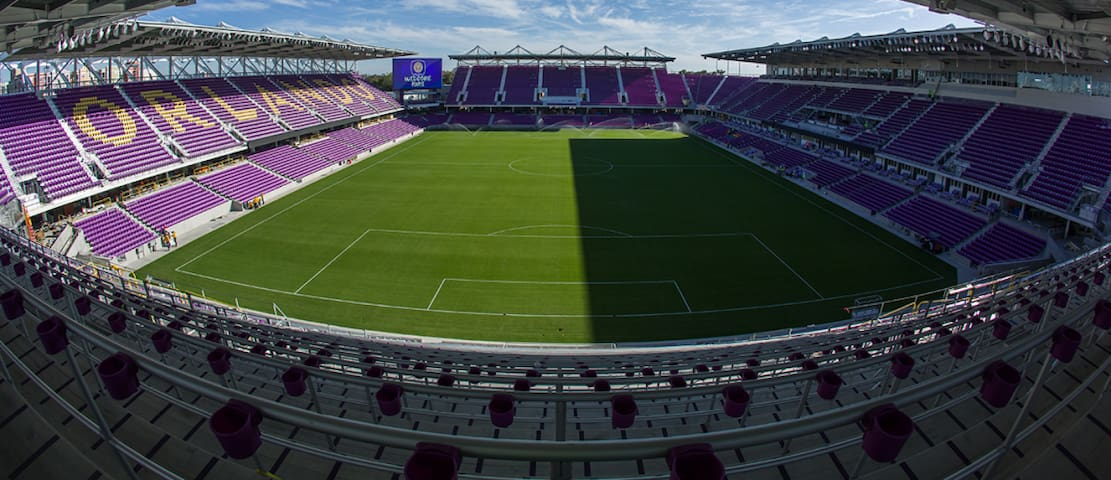 The Orlando City Soccer Stadium is a little over 2 miles away. Watch the Orlando City Lions or the Orlando Pride in this state of the art stadium.