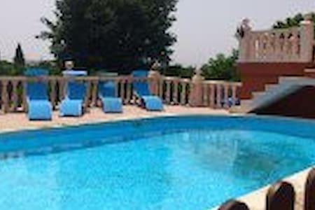 VILLA, PISCINA, TENNIS, HOLIDAYS - Alzira - 木屋