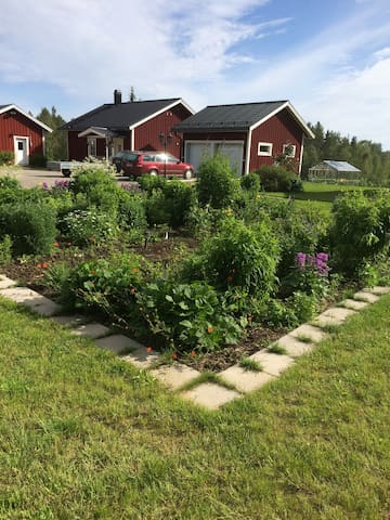 Nybyggt hus i vackra Alterdalen - Piteå N - House