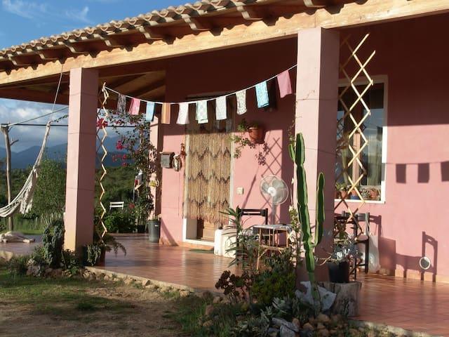 Immersa nella natura,casa rurale - San Priamo - Haus