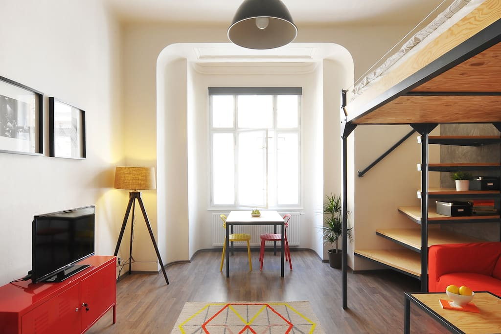 Top located cosy design apartment flats for rent in brno for Design apartment udolni brno
