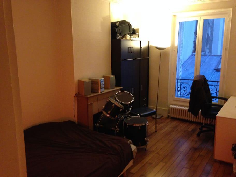 20 m² bedroom