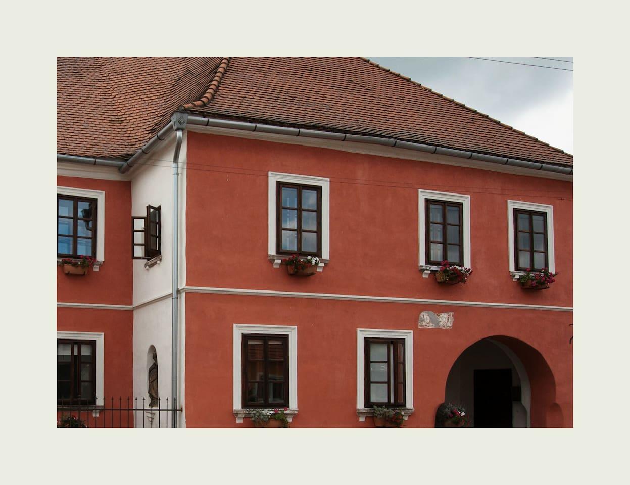 Apartmán Moruše 3 nadherny renesancni pokoj