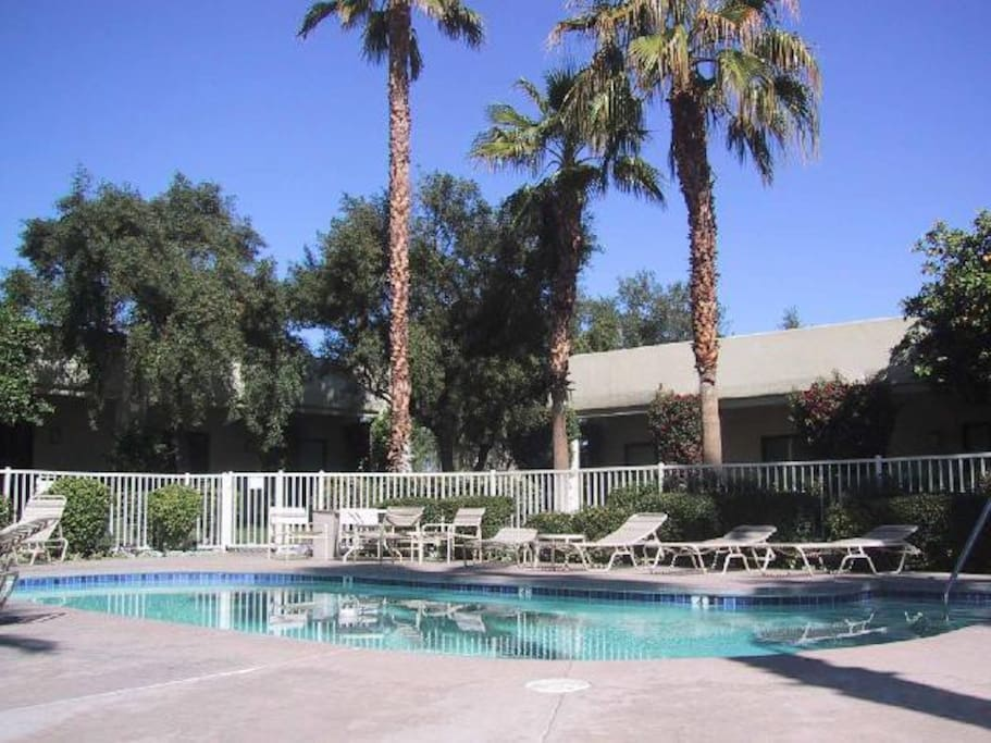 Palm Springs Vacation Rental Condo - One of 30+ pool/spas - there are two pool/spas very close to the condo