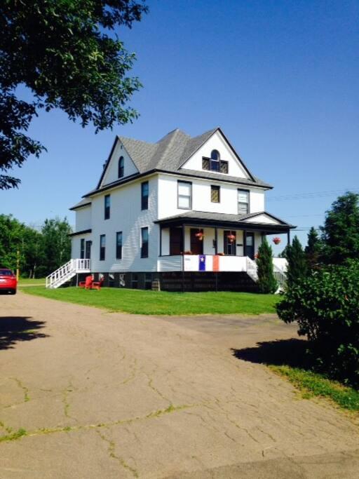 La maison mer de cocagne nature lodges for rent in cocagne new brunswick canada - Canada maison close ...