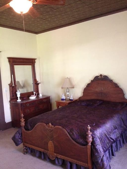 This is our master bedroom located on the main floor.